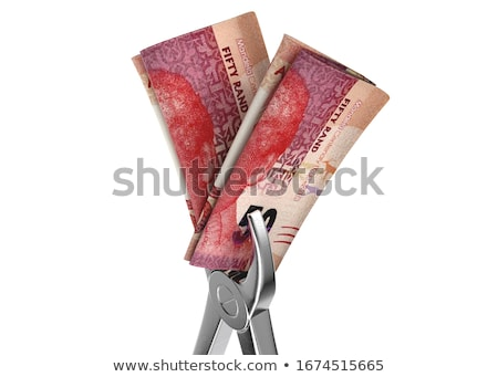 Dentist Pliers And Banknotes Stock photo © albund