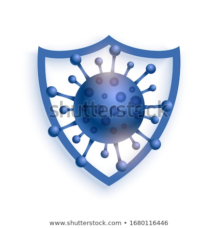virus protection shield resisting coronavirus to enter Stock photo © SArts
