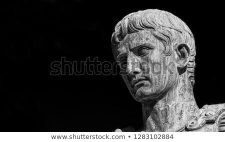 sezar · heykel · towers · İtalya · kapı - stok fotoğraf © claudiodivizia
