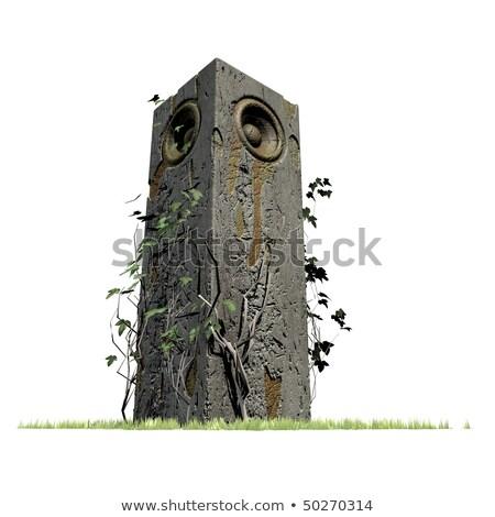 3d old speaker sound system deejay jungle woofer DJ  Stock photo © Melvin07