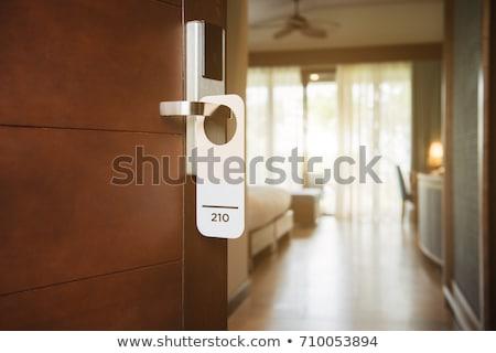 Hotel room objects Stock photo © sahua
