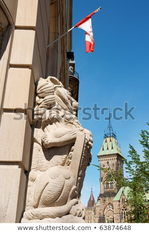 Central Post Office and the Parliament in Ottawa Stock photo © aladin66