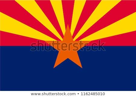 Phoenix vlag groot maat amerikaanse stad Stockfoto © tony4urban