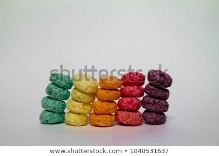 Fruit ringen granen vier zoals Stockfoto © mybaitshop