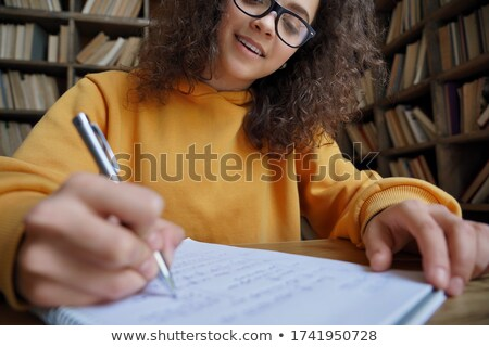 Teens writing Stock photo © photography33