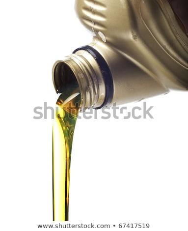 Motor oil poring Stock photo © papa1266