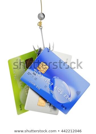 geld · haak · witte · 50 · euro · bankbiljet - stockfoto © gewoldi