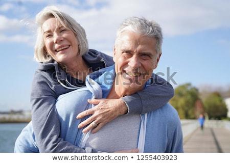Happy Retiree Stock photo © lisafx