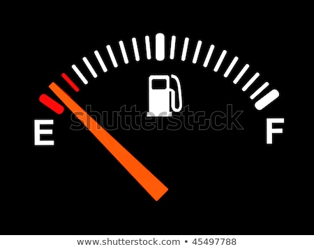 3d illustration of generic fuel meter over dark background  Stock photo © experimental