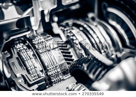 autó · gép · modern · erőteljes · motor · egység - stock fotó © witthaya