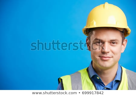 Head and shoulders of a young construction worker Stock photo © photography33