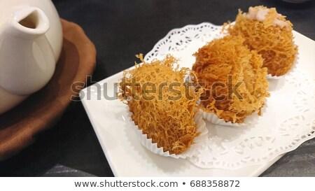 Dim sum gustoso asian noto alimentare Foto d'archivio © yuliang11