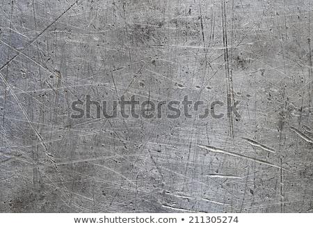 aluminum scratched metal surface Stock photo © Mikko