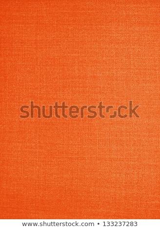 Stock photo: Orange Fabric Texture