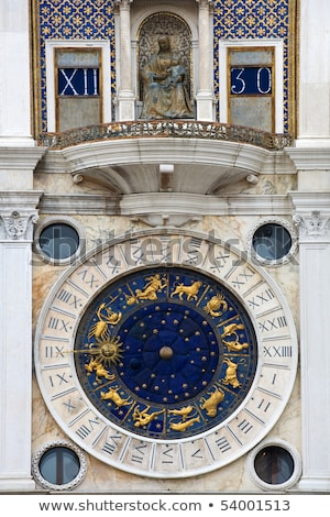 famous zodiacal clock Stock photo © vwalakte