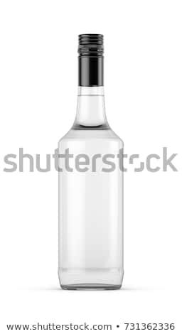 üres szeszes ital üveg retro bolt fehér Stock fotó © Zerbor
