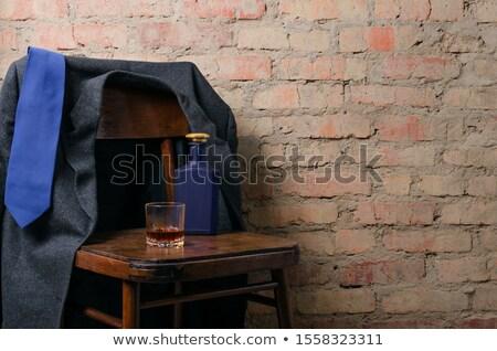 Brandewijn glas geïsoleerd witte bril bar Stockfoto © taden