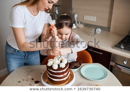 mother and her children Stock photo © taden