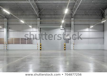 Factory doors Stock photo © trgowanlock