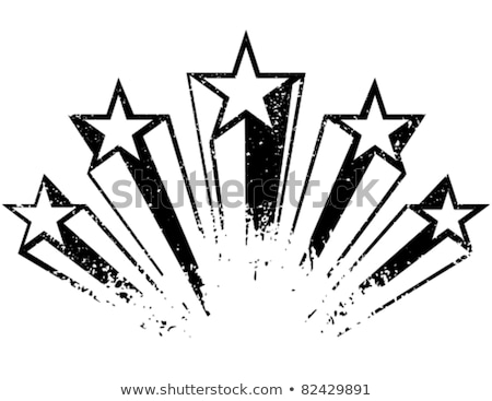 Shooting Star Banner Stock photo © cteconsulting