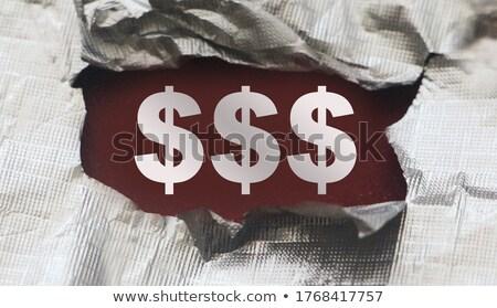 verborgen · schuld · business · onbekend · financiële · gevaar - stockfoto © 3mc