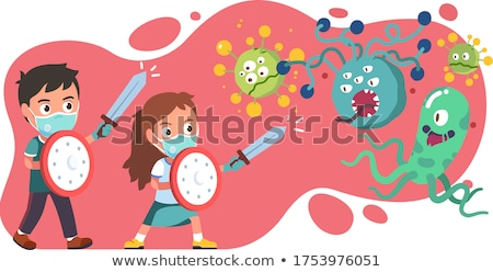 sword and glove stock photo © russwitherington