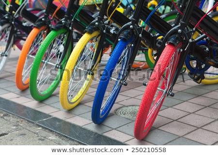 Multi Colored bicycle Stock photo © Kurhan