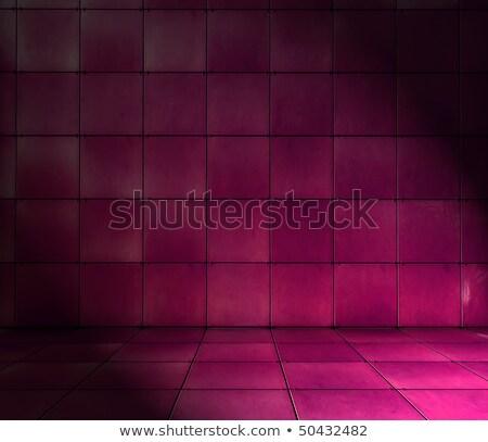 Resumen azulejo mosaico habitación magenta rosa Foto stock © Melvin07