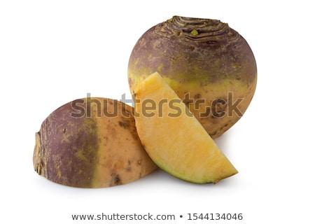 Geïsoleerd witte voedsel markt groenten plantaardige Stockfoto © premiere