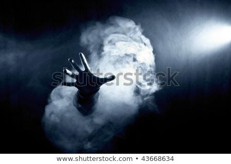силуэта человека Hat пушки и Сток-фото © sharpner