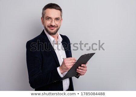 Portret gericht manager schrijven magazijn Stockfoto © wavebreak_media