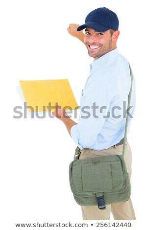 почтальон письме человека работу пост Постоянный Сток-фото © wavebreak_media