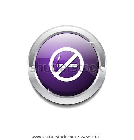 设计 · 数字 / no smoking sign violet vector icon design图片