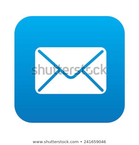 Send Blue Vector Icon Design Stock photo © rizwanali3d