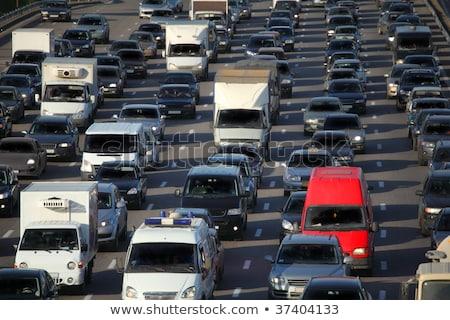 beaucoup · voitures · route · affaires · ville · Voyage - photo stock © paha_l
