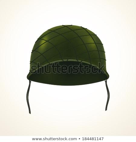 Realistic army helmet stock photo © Yuriy