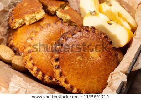 Amêndoa bolinhos tradicional holandês doce Foto stock © Digifoodstock