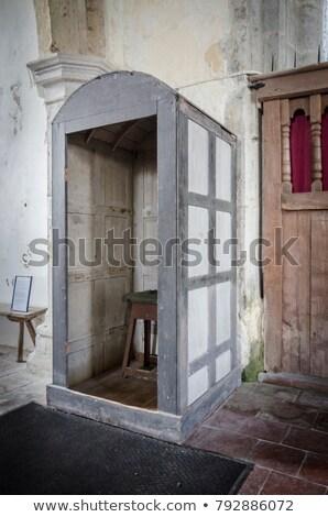 Grave abrigo usado chuva invenção Foto stock © smartin69