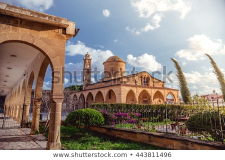 православный · собора · Кипр · небе · пейзаж · Церкви - Сток-фото © kirill_m