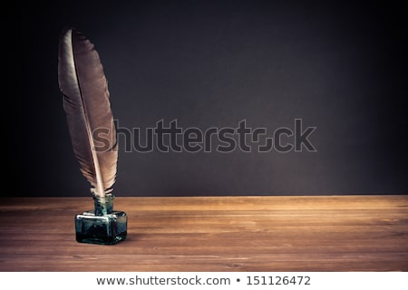 Education sign on wooden table Stock photo © fuzzbones0