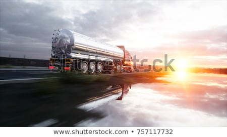 A gasoline truck Stock photo © bluering