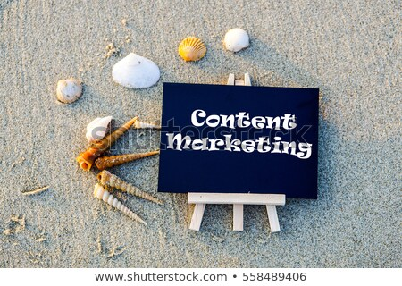 Content marketing text on school board Stock photo © fuzzbones0