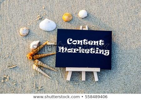 содержание · маркетинга · текста · зеленый · совета · группа - Сток-фото © fuzzbones0