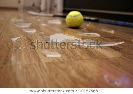 битое стекло люстра черный дизайна стекла искусства Сток-фото © IMaster