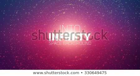 Universe with stars. Matrix of glowing stars. Space background.  Stock photo © LeonART