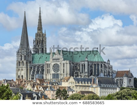 Chartres Cathedral, France Stock photo © dutourdumonde
