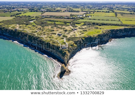 Pointe-Du-Hoc, Normandy, France Stock photo © kraskoff