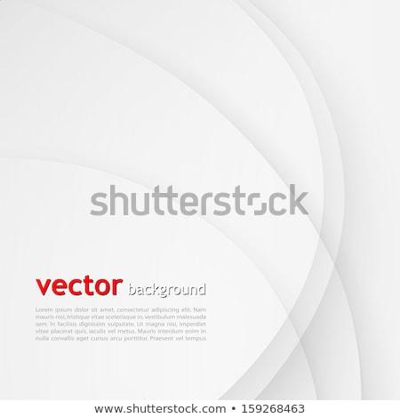 Propre gris ondulés lignes fond mouvement Photo stock © SArts