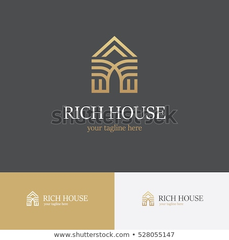 home · logo · symbool · huis · huisvesting - stockfoto © sarts