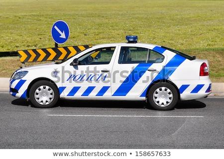 警察 車 実例 ストックフォト © derocz